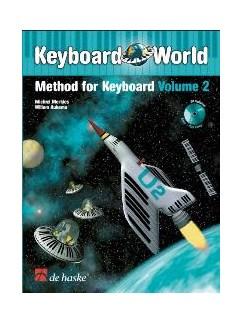 Keyboard World Method - Volume Two Books and CDs | Keyboard