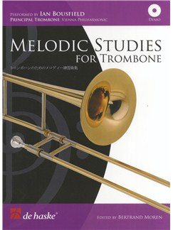 Melodic Studies For Trombone Books and CDs | Trombone