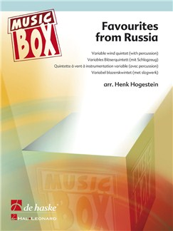 Favourites From Russia Books | Wind Quintet, Percussion