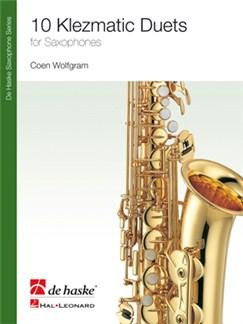 10 Klezmatic Duets - Alto/Soprano Saxophone Books | Alto Saxophone (Duet), Alto Saxophone (Duet), Soprano Saxophone (Duet), Soprano Saxophone (Duet)
