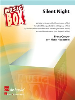 Franz Gruber: Silent Night (Variable Wind Quartet) Books | Wind Ensemble (Quartet), Clarinet (Quartet)