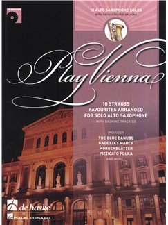Play Vienna! - Alto Saxophone Books and CDs | Alto Saxophone