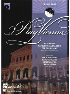 Play Vienna! - Piano Books and CDs | Piano