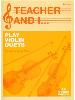 Teacher And I... Play Violin Duets Books | Violin (Duet)
