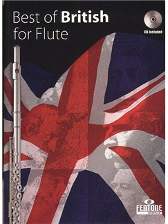 The Best Of British For Flute Books and CDs | Flute, Piano Accompaniment