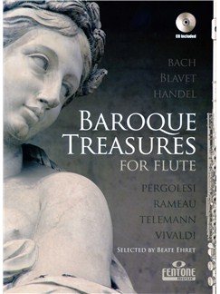 Baroque Treasures For Flute Books and CDs | Flute