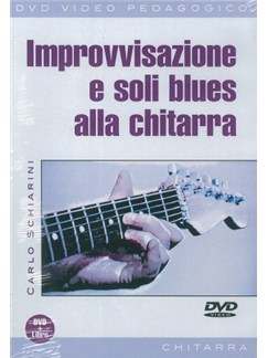 Carlo Schiarini: Improvvisazione E Soli Blues Alla Chitarra (Libro/DVD) Books and DVDs / Videos | Guitar