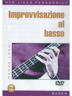 Marco Lopri: Improvvisazione Al Basso (Libro/DVD) Books and DVDs / Videos   Bass Guitar
