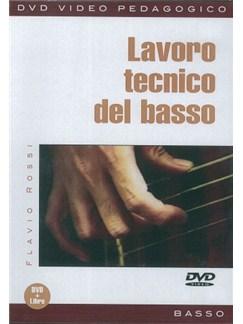 Flavio Rossi: Lavoro Tecnico Del Basso (Libro/DVD) Books and DVDs / Videos | Bass Guitar