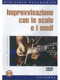Peter Nathanson: Improvvisazione Con Le Scale E I Modi (Libro/DVD) Books and DVDs / Videos | Guitar