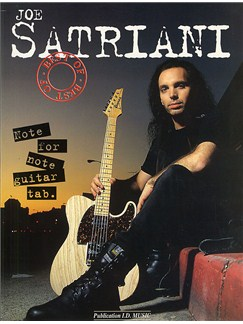 The Best Of Joe Satriani Books | Guitar Tab, with chord symbols