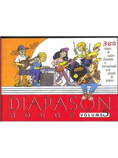 Diapason Rouge Volume 5 Livre | Voix (Boîtes d'Accord)