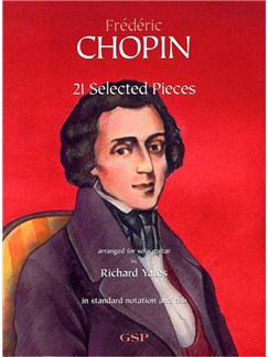 Chopin: 21 Selected Pieces For Solo Guitar Books | Guitar Tab, Classical Guitar