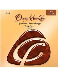 Dean Markley: Vintage Bronze Acoustic Guitar Strings - Light (.011-.052)  | Acoustic Guitar