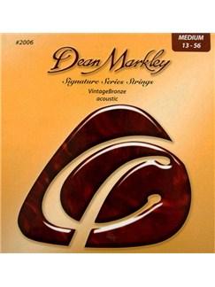 Dean Markley: Vintage Bronze Acoustic Guitar Strings - Medium (.013-.056)    Acoustic Guitar