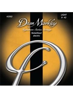 Dean Markley: Nickelsteel Signature Electric Guitar Strings - Light (.009-.042)  | Electric Guitar