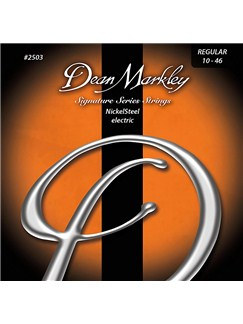 Dean Markley: Nickelsteel Signature Electric Guitar 7 Strings - Regular (.010-.056)  | Electric Guitar