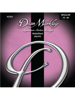 Dean Markley: Nickelsteel Signature Electric Guitar Strings - Regular (.010-.046)  | Electric Guitar