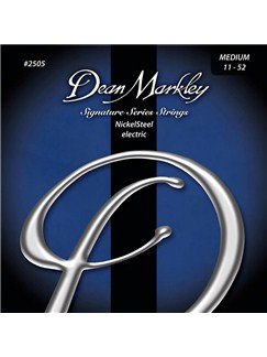 Dean Markley: Nickelsteel Signature Electric Guitar Strings - Medium (.011-.052)  | Electric Guitar