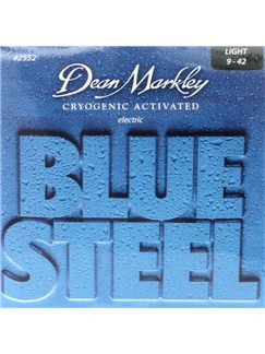Dean Markley: Blue Steel Electric Guitar Strings - Light (.009-.042)  | Electric Guitar