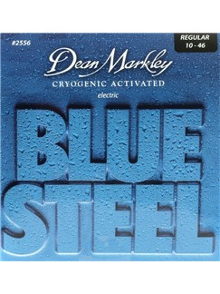 Dean Markley: Blue Steel Electric Guitar Strings - Regular (.010-.046)  | Electric Guitar