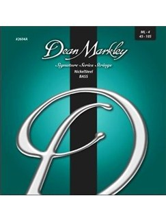 Dean Markley: Nickelsteel Signature Bass Guitar Strings - Medium Light (.045-.105)  | Bass Guitar