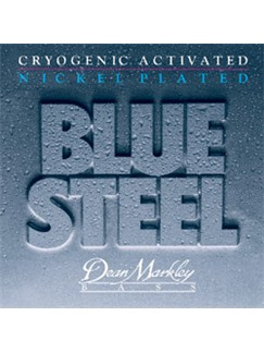 Dean Markley: Blue Steel NPS Bass Guitar Strings - Medium Light (.045-.105)  | Bass Guitar