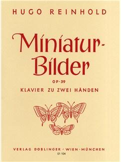 Hugo Reinhold: Miniatur-Bilder Op.39 Books   Piano