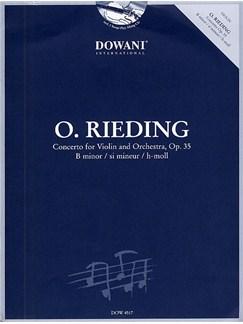 Oskar Rieding: Concerto Op.35 In B Minor (Violin/Piano) Books and CDs | Violin, Piano Accompaniment