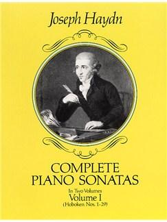 F.J. Haydn: Complete Piano Sonatas Volume I Books | Piano