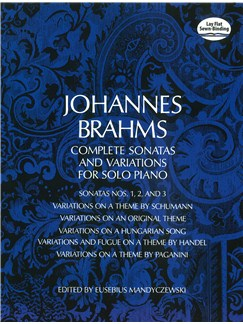 Johannes Brahms: Complete Sonatas And Variations For Solo Piano Books | Piano