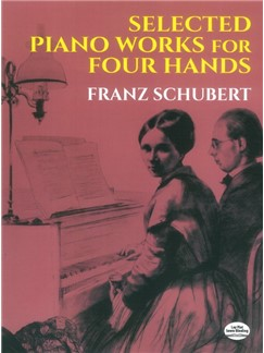 Franz Schubert: Selected Piano Works For Four Hands Books | Piano Duet