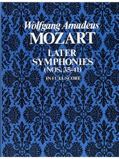 W.A. Mozart: Later Symphonies - Nos.35-41 (Full Score) Books | Orchestra