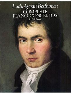 Beethoven: Complete Piano Concertos (Full Score) Books | Piano, Orchestra