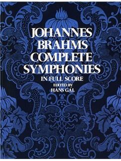 Johannes Brahms: Complete Symphonies (Full Score) Books | Orchestra