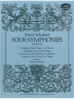 Franz Schubert: Four Symphonies Books | Orchestra