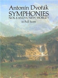 Antonin Dvorak: Symphonies Nos. 8 and 9 ('New World) In Full Score Books | Orchestra