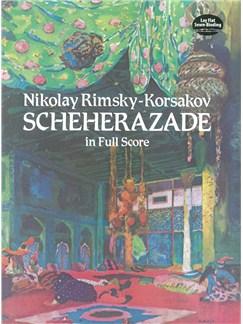 Nikolay Rimsky-Korsakov: Sheherazade (Full Score) Books   Orchestra