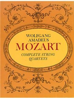 W.A. Mozart: Complete String Quartets Books | String Quartet