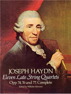 F.J. Haydn: Eleven Late String Quartets Books | String Quartet