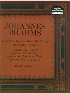 Brahms: Complete Chamber Music For Strings And Clarinet Quintet Books | Chamber Group