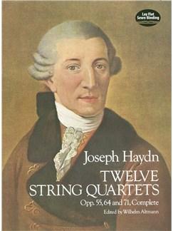 F.J. Haydn: Twelve String Quartets Books | String Quartet
