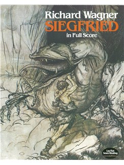 Richard Wagner: Siegfried (Full Score) Books | Opera