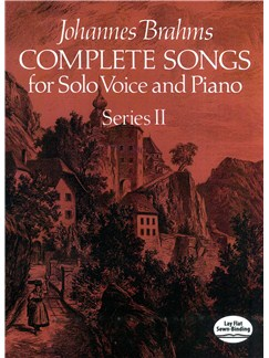 Brahms: Complete Songs For Solo Voice And Piano Series II Books | Voice, Piano