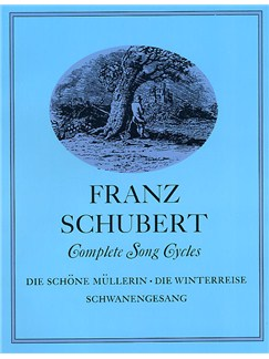 Franz Schubert: Complete Song Cycles Books | Voice, Piano
