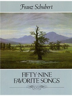 Franz Schubert: Fifty-nine Favorite Songs Books | Voice, Piano