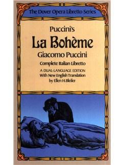 Giacomo Puccini: La Boheme Libretto (Italian/English) Books | Libretto