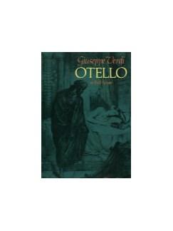 Giuseppe Verdi: Otello (Full Score) Books | Opera