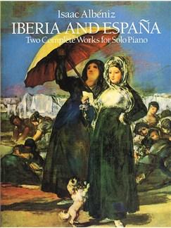 Isaac Albeniz: Iberia And Espana Books | Piano
