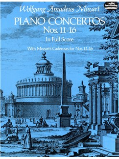 W.A. Mozart: Piano Concertos Nos. 11-16 Books | Orchestra